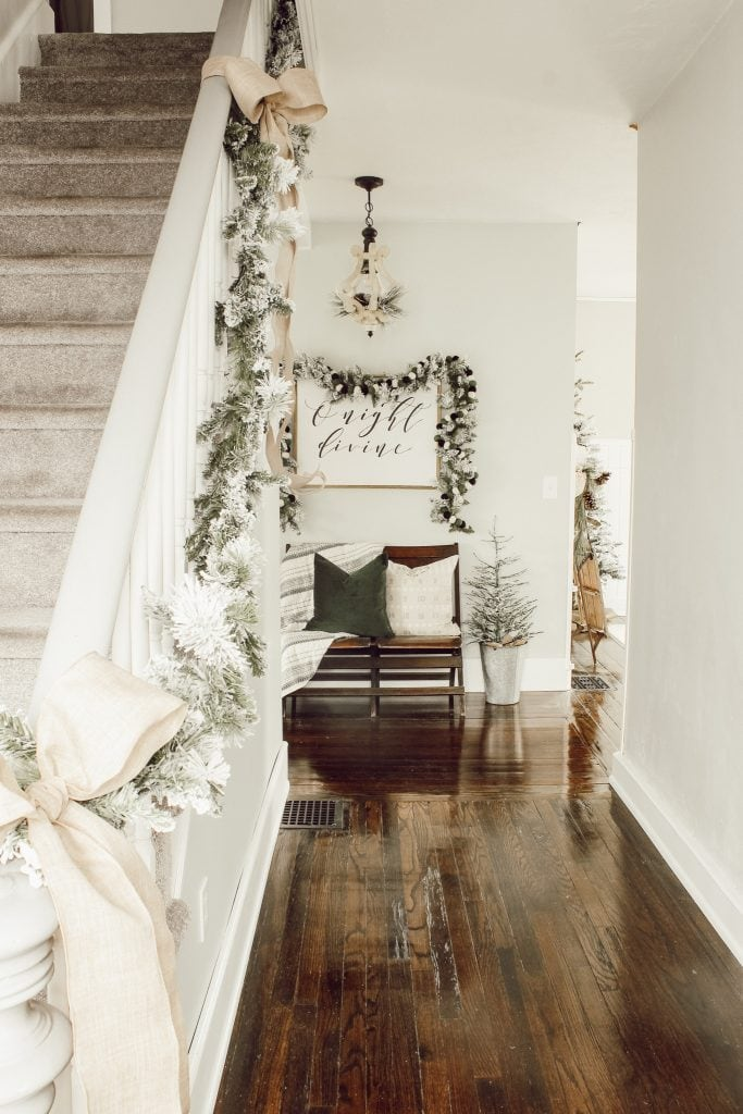 Welcome to my Christmas home tour. See all of my Christmas decor and get inspired to decorate your own home! | michealadianedesigns.com