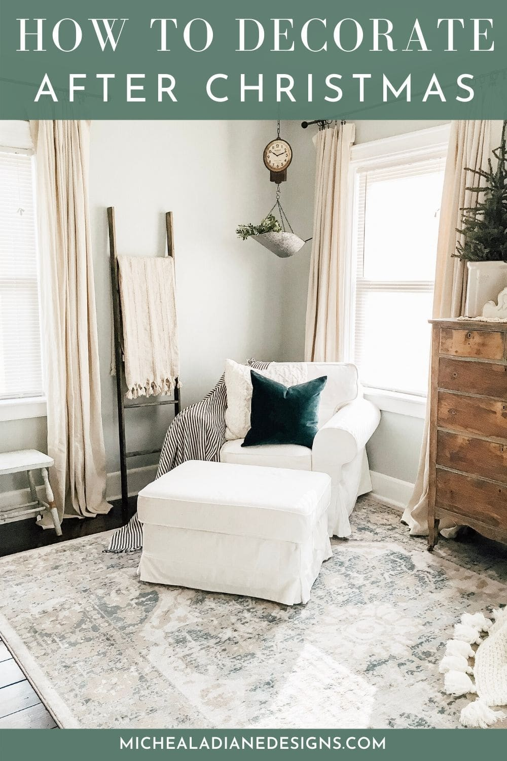 How to Decorate After Christmas