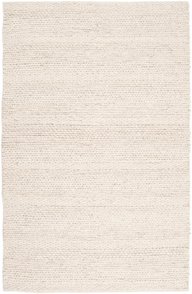 Creaamy white textured area rug Hanlontown Boutique Rugs