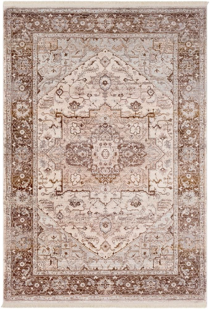 Traditional Vintage rug browns and reds Malcolm Boutique Rugs