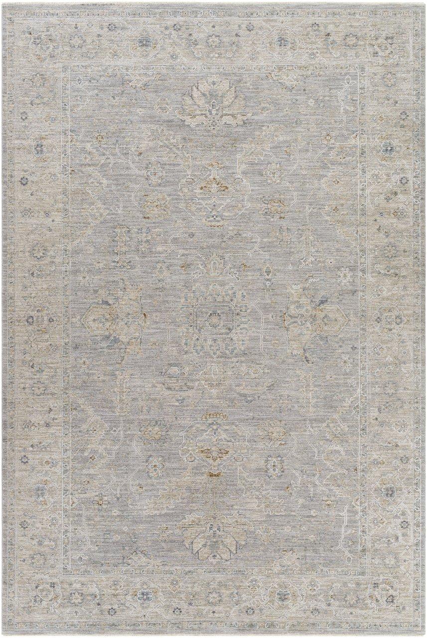 Grey traditional vintage rug Tahmoor Boutique Rugs