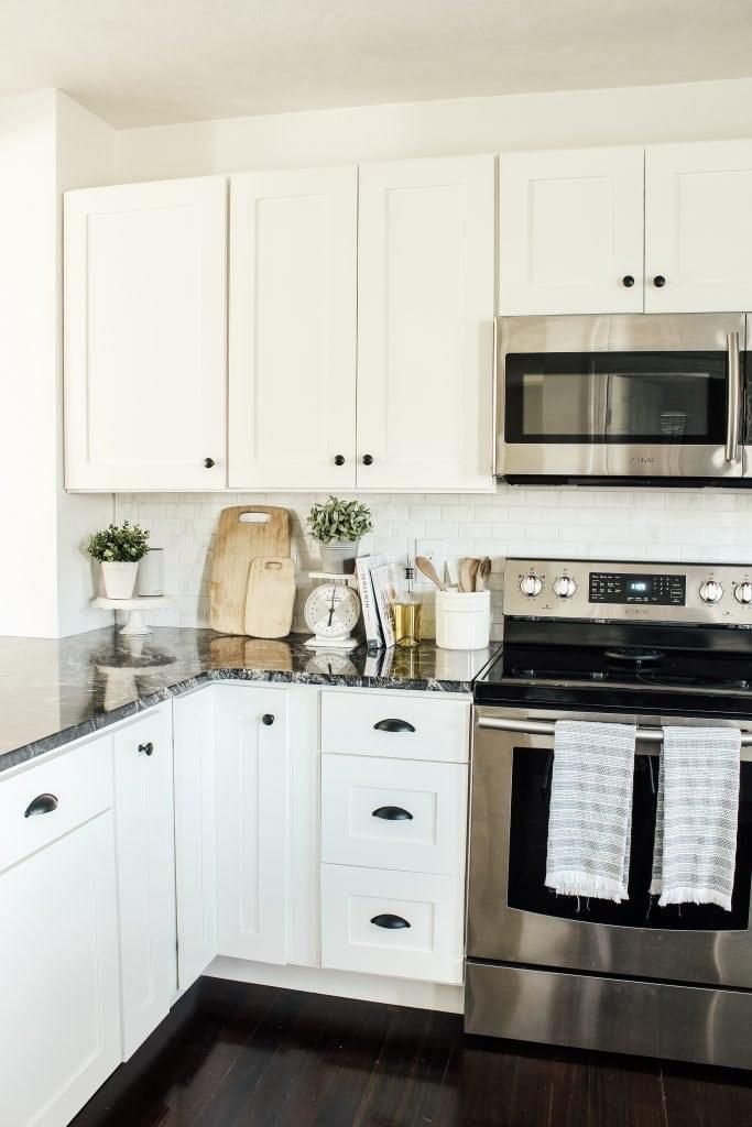 Modern Farmhouse Kitchen Makeover Reveal Micheala Diane Designs