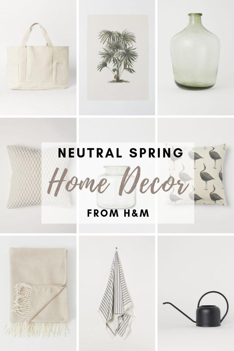 Neutral Spring Decor