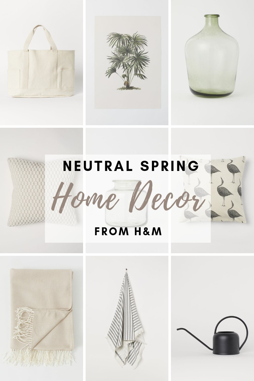 Neutral Spring Decor