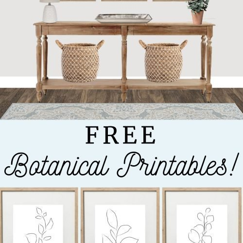 Abstract Botanical Prints ( FREE PRINTABLE)