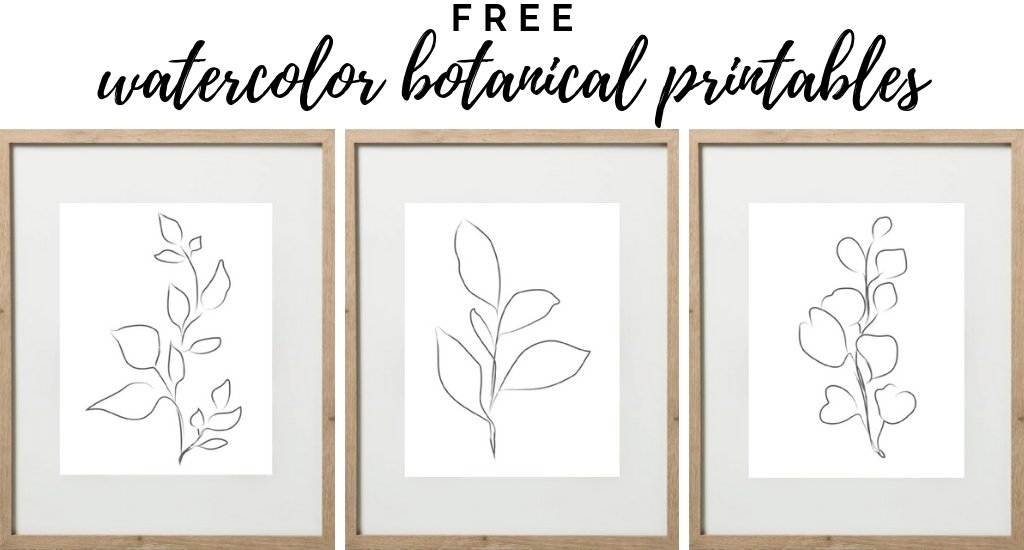 Botanical Printable