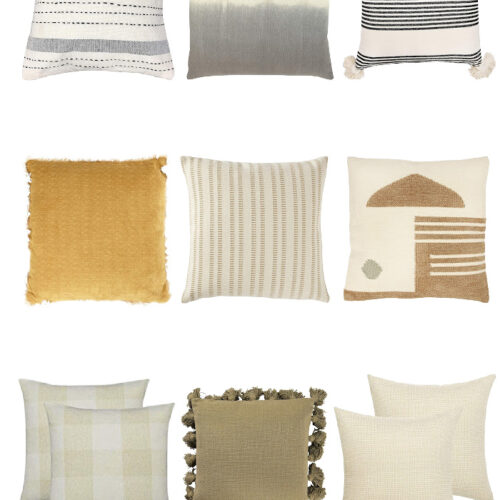 The Best Neutral Throw Pillows From Amazon