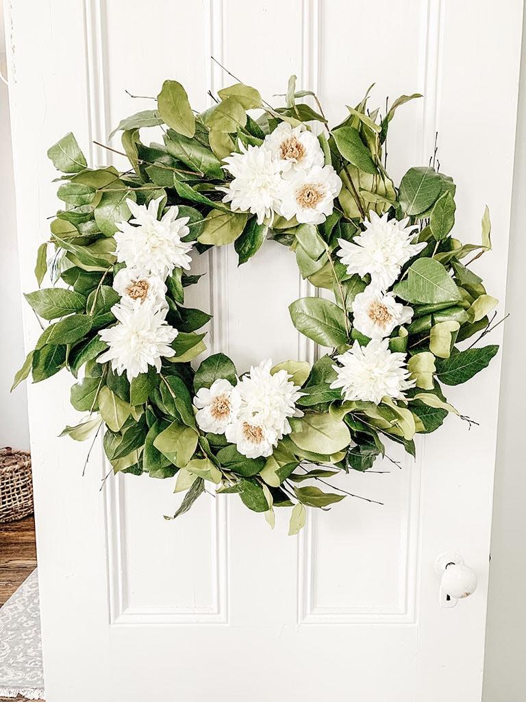 DIY Summer Wreath_