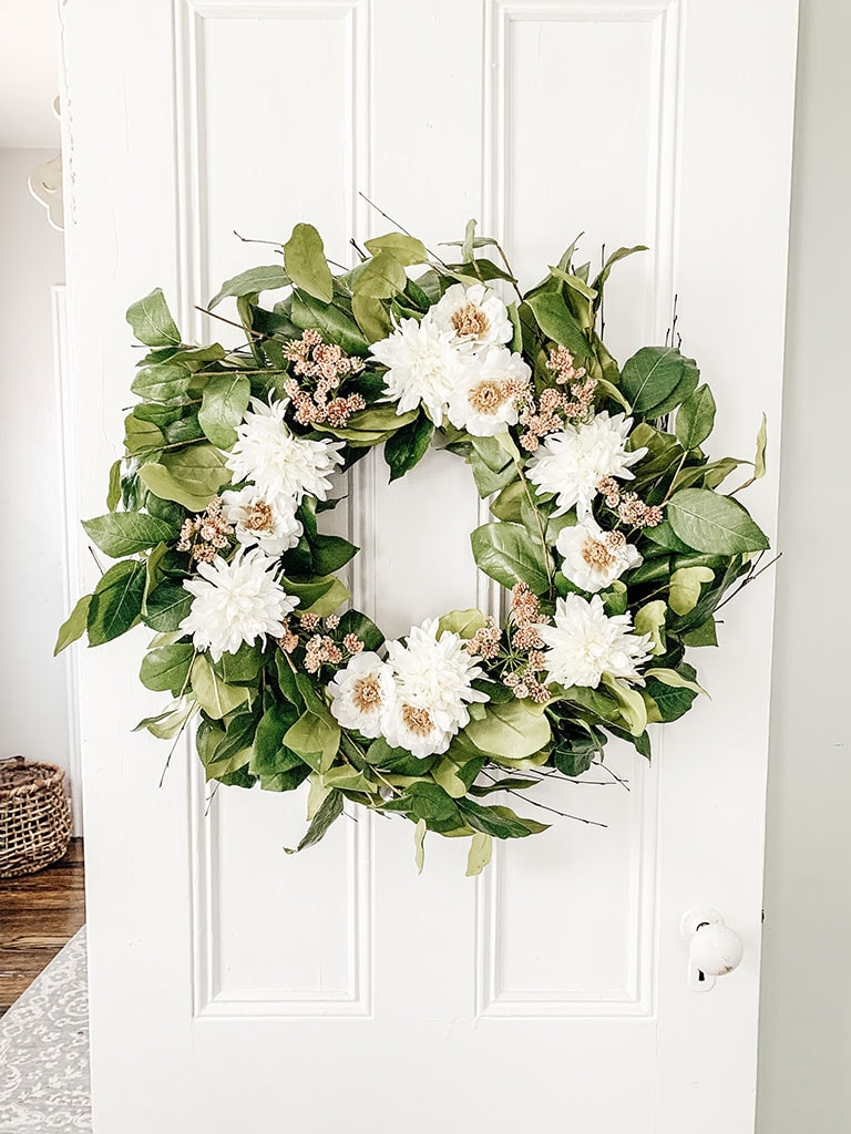 DIY Summer Wreath_