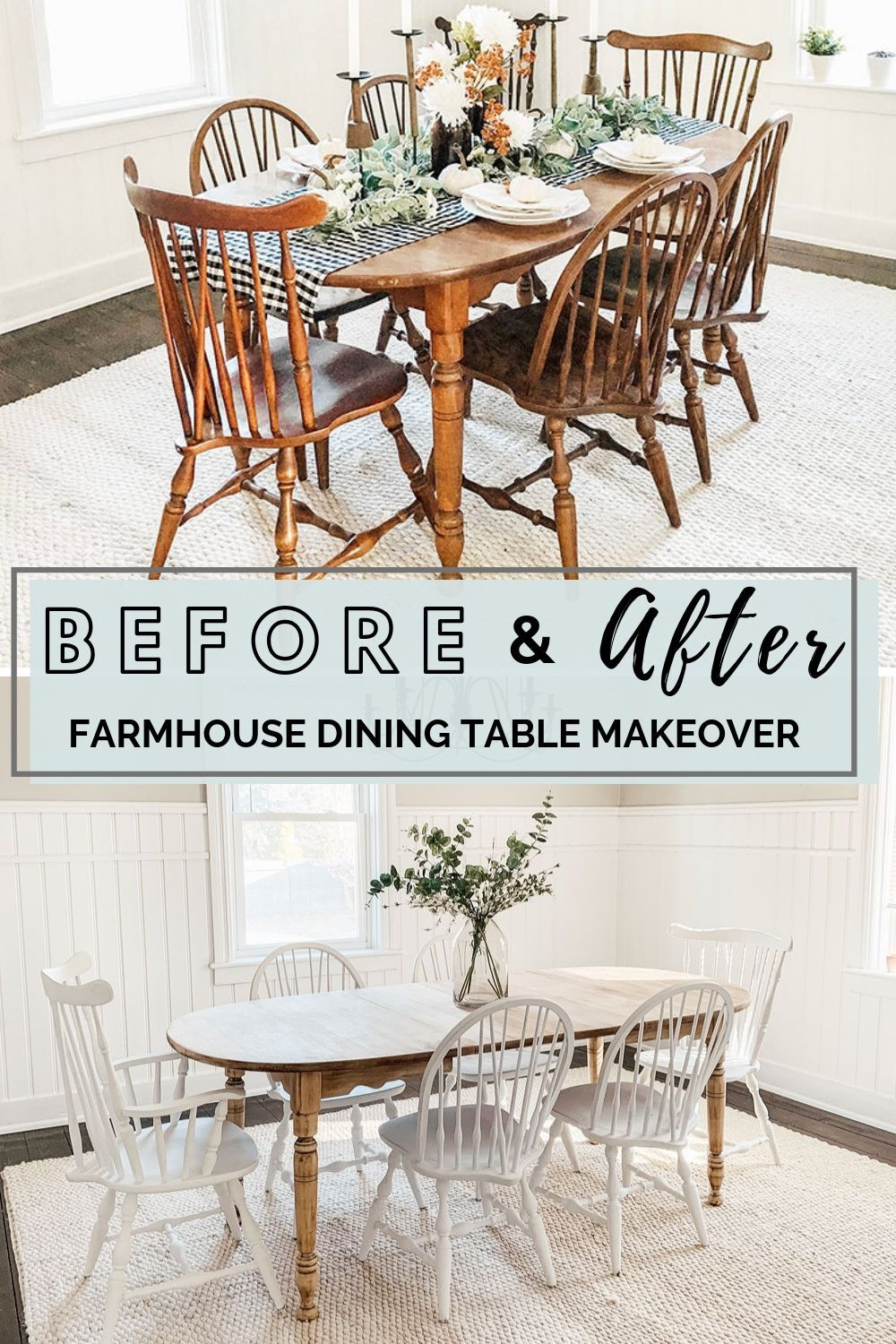 Fabulous Diy Dining Room Table Makeover Micheala Diane Designs Inzonedesignstudio Interior Chair Design Inzonedesignstudiocom