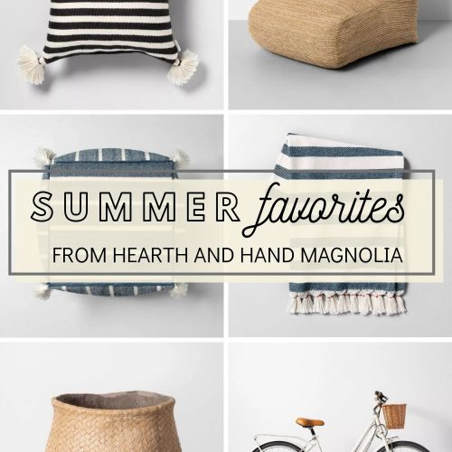 Summer Must Haves From The Hearth and Hand Collection at Target