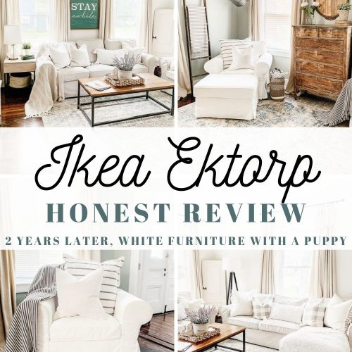 Honest Review of the Ikea Ektorp Slipcover Furniture