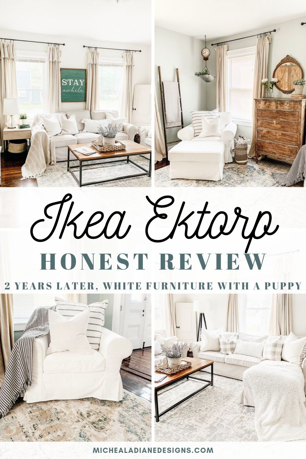 Ikea Ektorp Sofa Review - Micheala Diane Designs