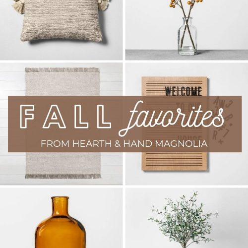 Hearth & Hand with Magnolia Fall Decor- 2019