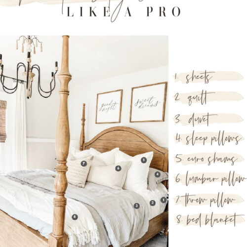 How to style a bed like a pro
