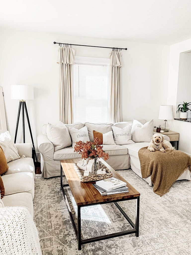 Fall Living Room Decor