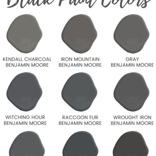 The Best Black Paint Colors