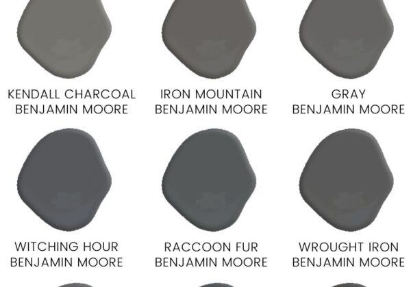 Benjamin Moore Black Paint Colors