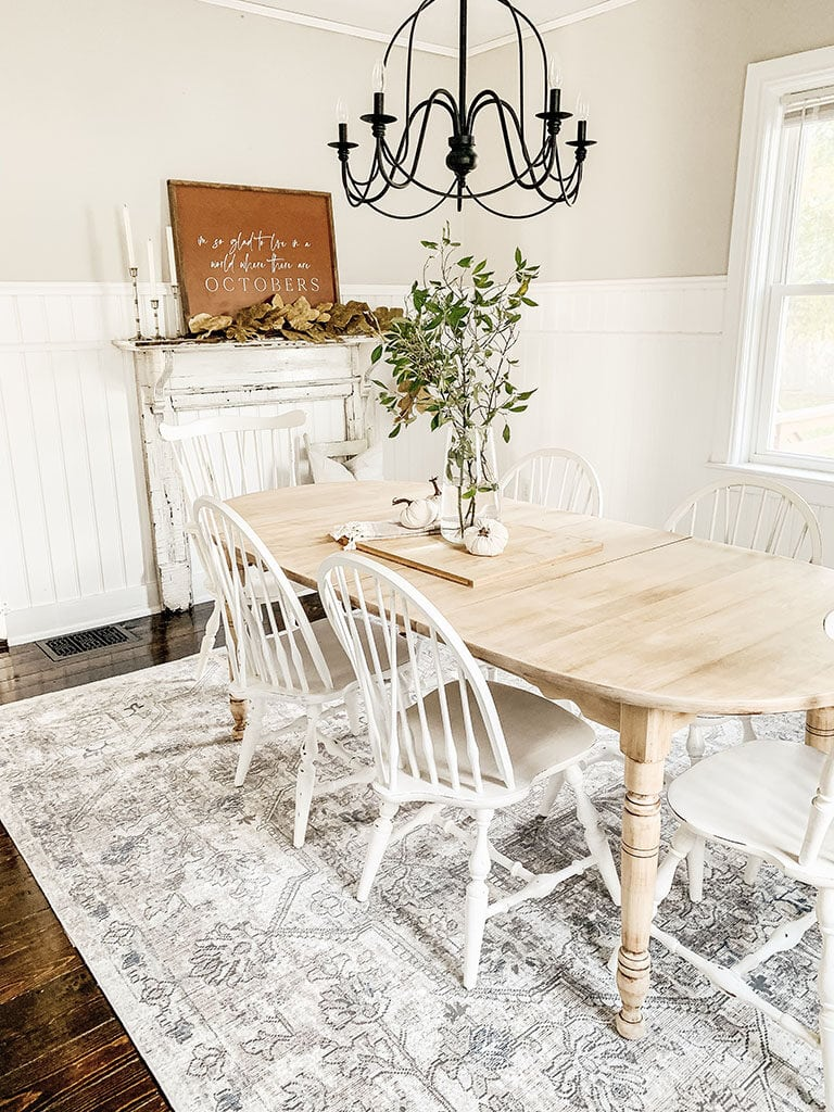 Vintage Inspired Dining Room Rug | Boutique Rugs - Micheala ...