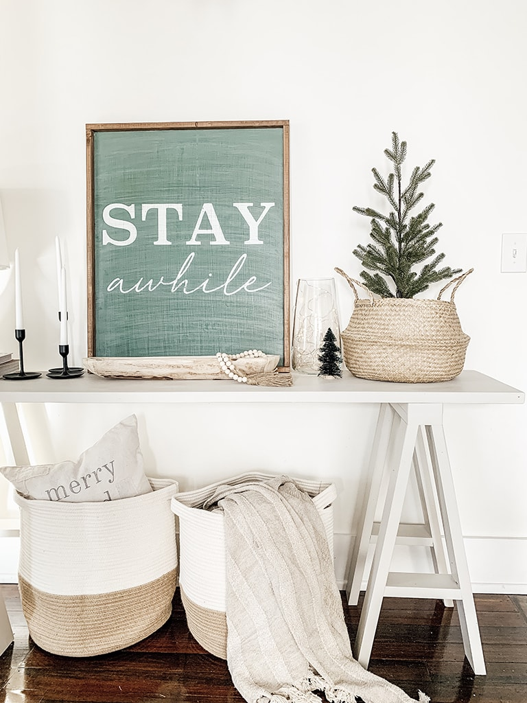 Styled Entry Table