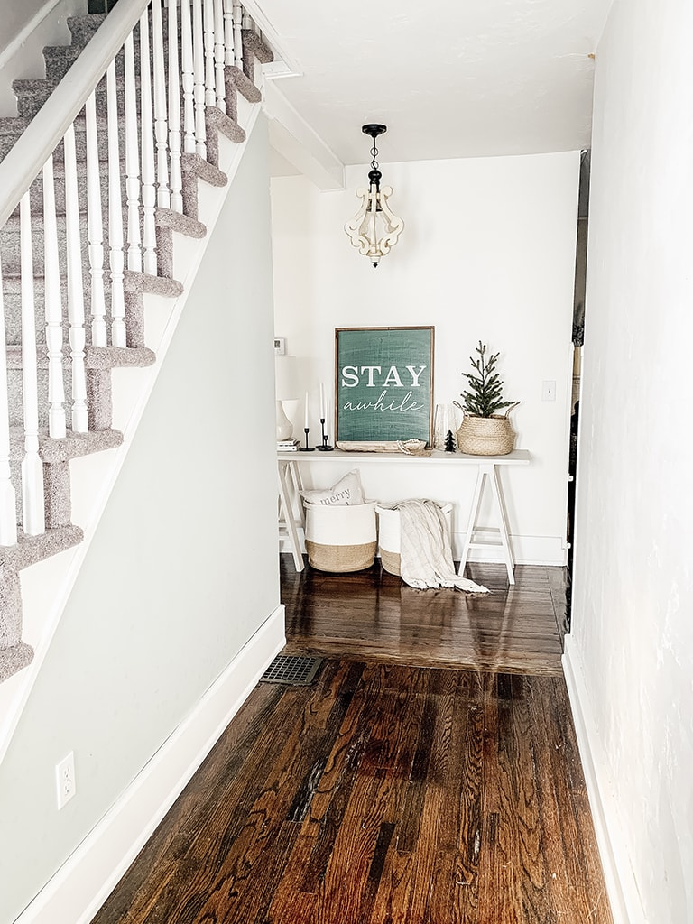 Stairs and Entry Table