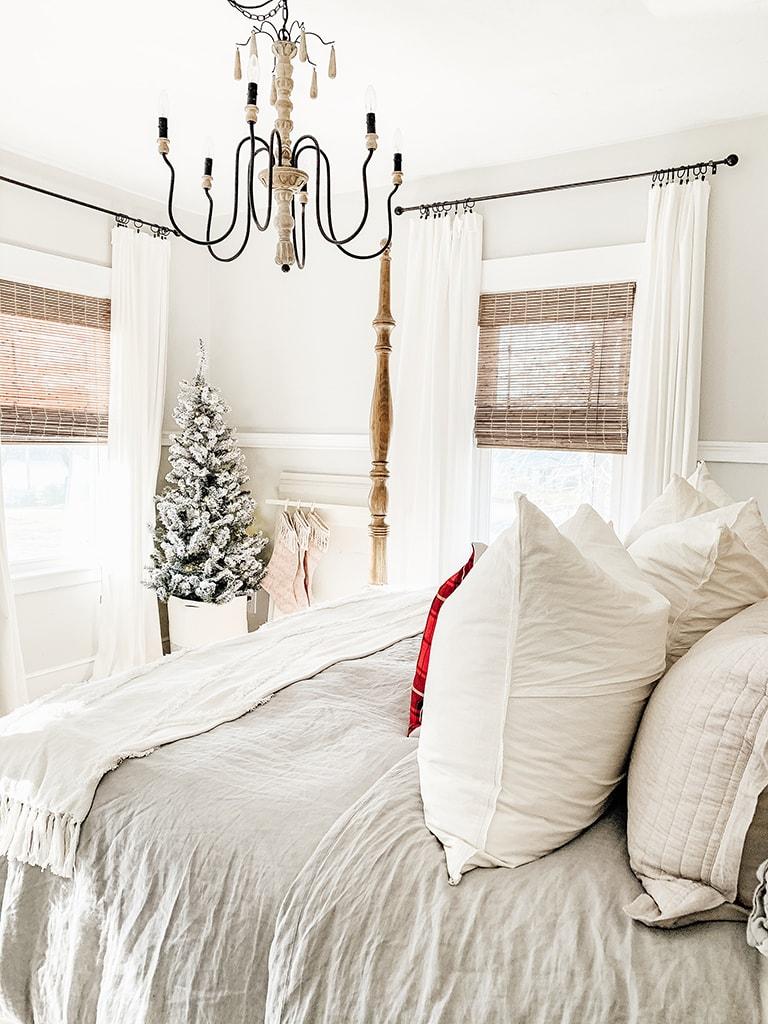 Farmhouse Christmas Bedroom