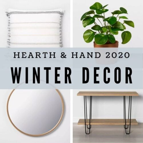 The Best of Hearth and Hand Winter Decor 2020