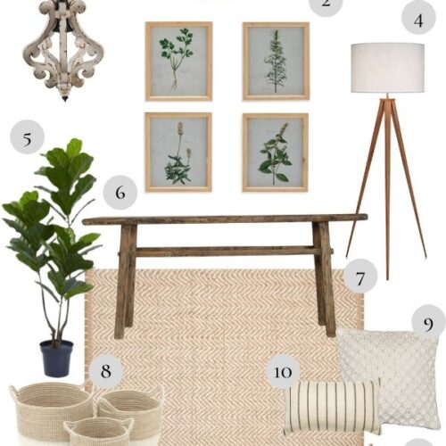 Neutral Home Decor