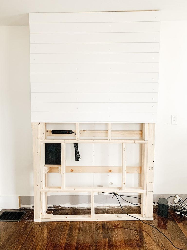 Secret door shelves