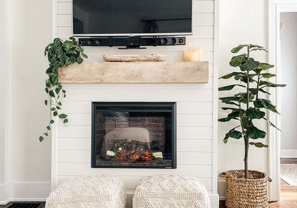 Decorating Mantel With TV