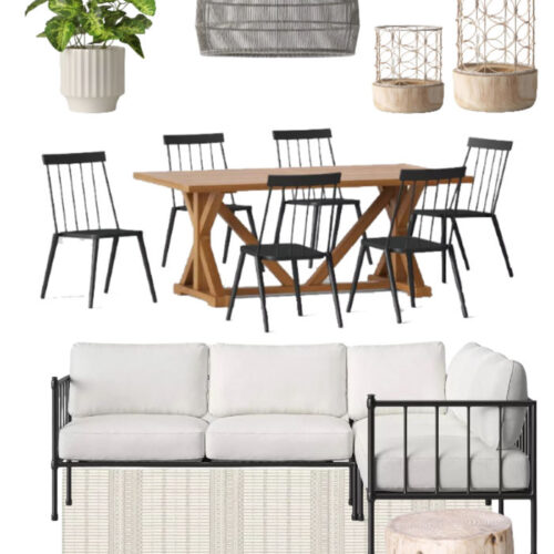 Modern Farmhouse | Outdoor Decorating Ideas