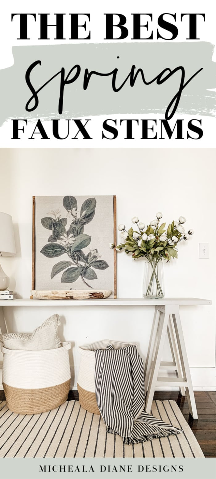 The best faux stems