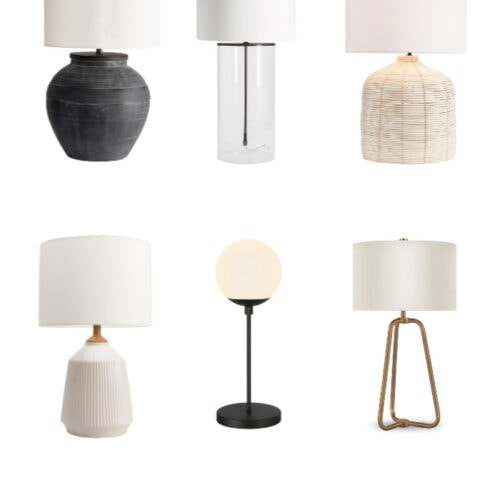 Modern Farmhouse Table Lamps