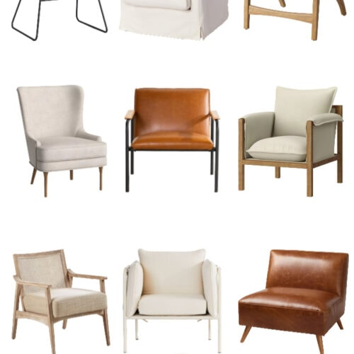 Affordable Neutral Accent Chairs
