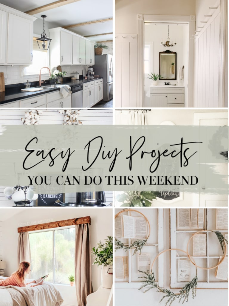Weekend DIY Projects