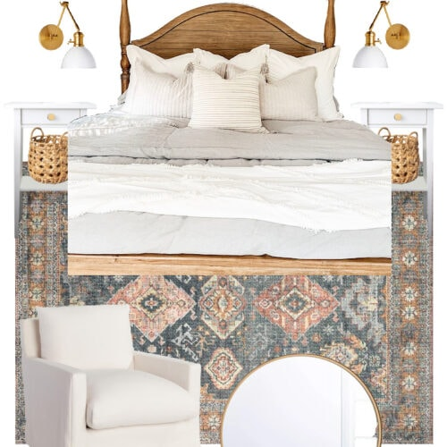 Master Bedroom Refresh Style Board