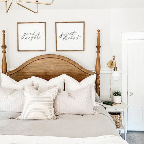 Master Bedroom Refresh Reveal