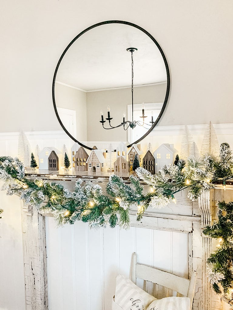 Christmas house village