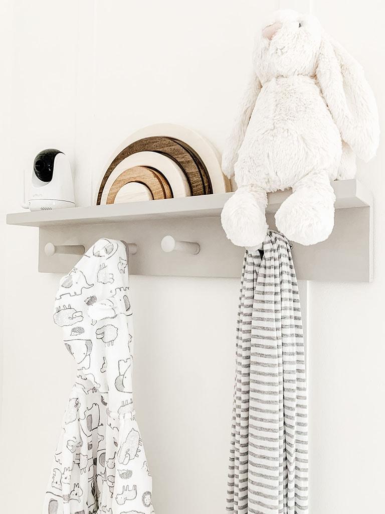 Nursery Peg Shelf