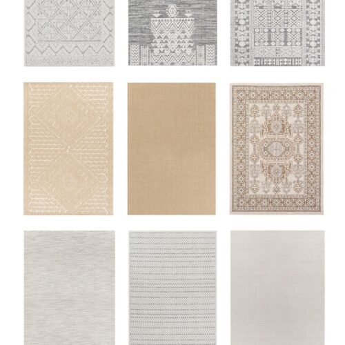 Affordable Outdoor Rugs from Boutique Rugs