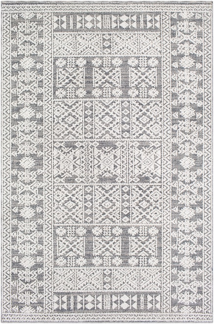 Ware Outdoor Rug- Grey pattern outdoor rug from boutique rugs