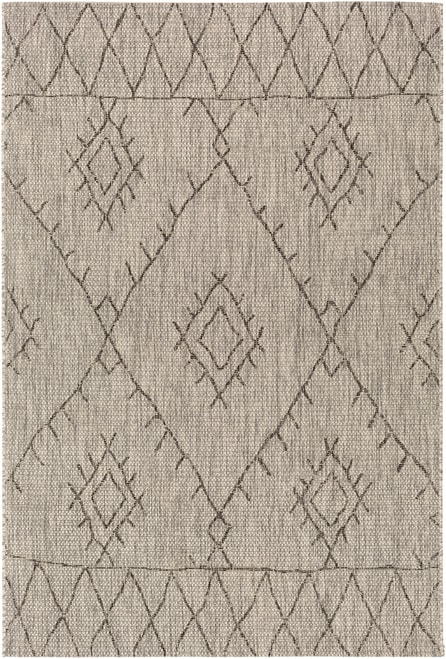 Neutral boho tribal outdoor rug- Marwood Boutique Rugs