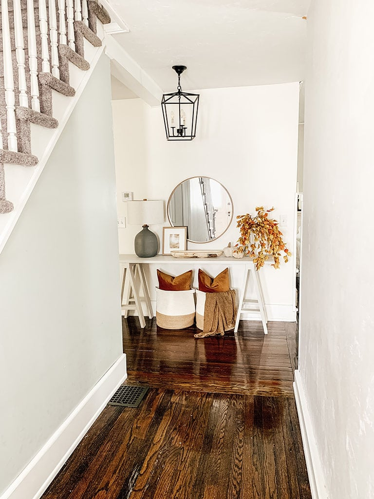Fall Console Table