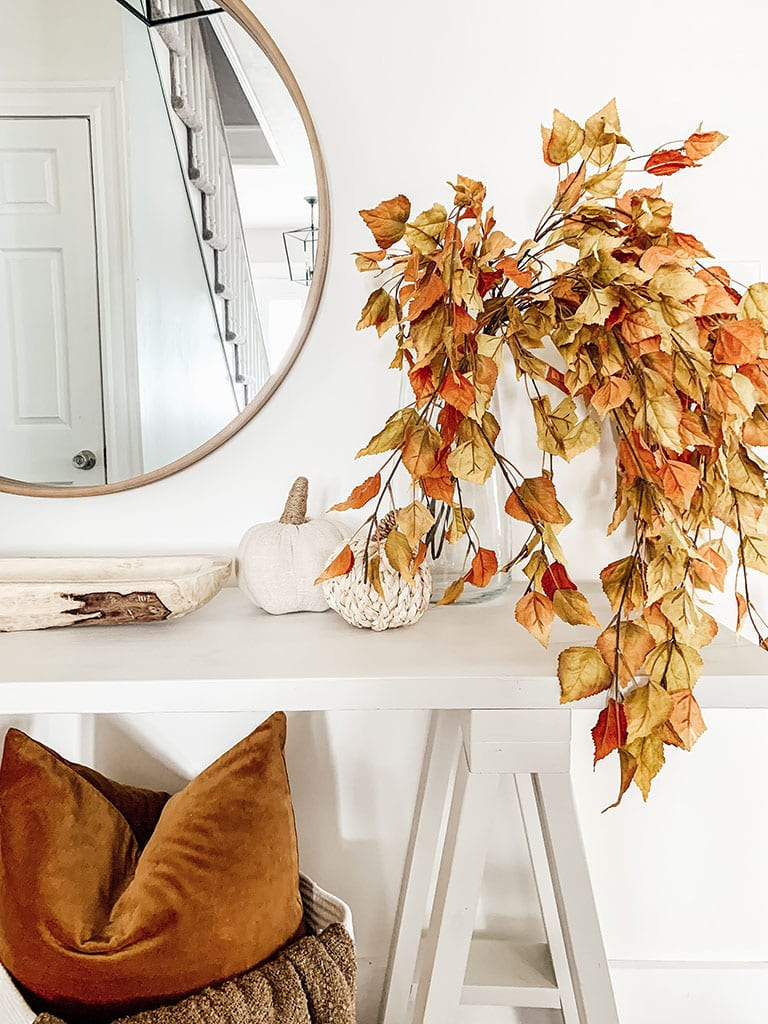 Fall floral stems for decorating for Fall