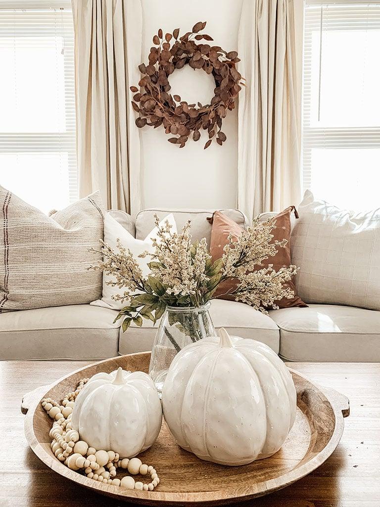 Neutral Fall Pumpkins